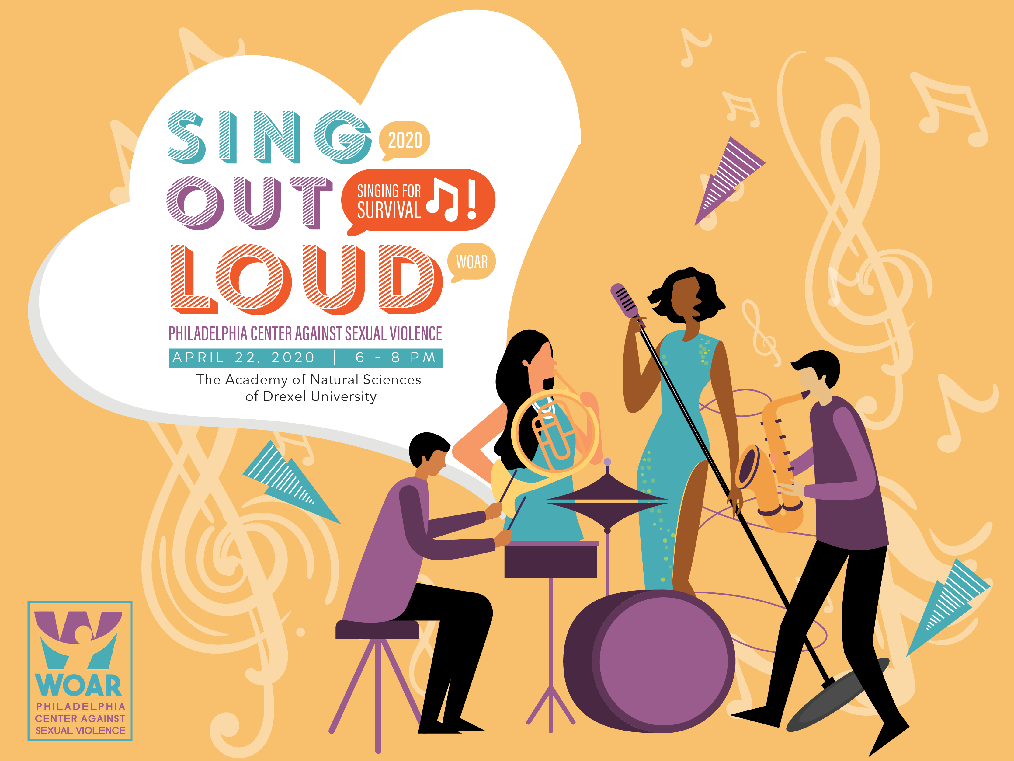 Call for Singers for Sing Out Loud 2020