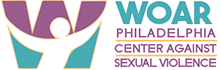WOAR – Philadelphia Center Against Sexual Violence Logo