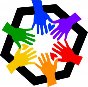Multicolored Hands - Community Outreach