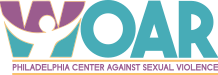 WOAR – Philadelphia Center Against Sexual Assault Logo