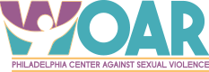 WOAR – Philadelphia Center Against Sexual Violence Logo